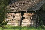 Дом с дранкой - дом старый дранка