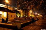 У Третьяковки - ночная москва Третьяковская галерея